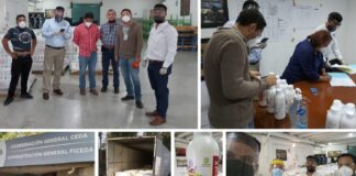 La Anafapyt en colaboración con diversas empresas dona 30,000 litros de gel antibacterial